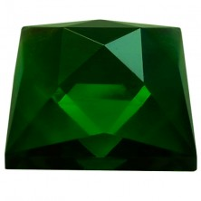 Rautenquadrat 25 x 25mm smaragdgrün