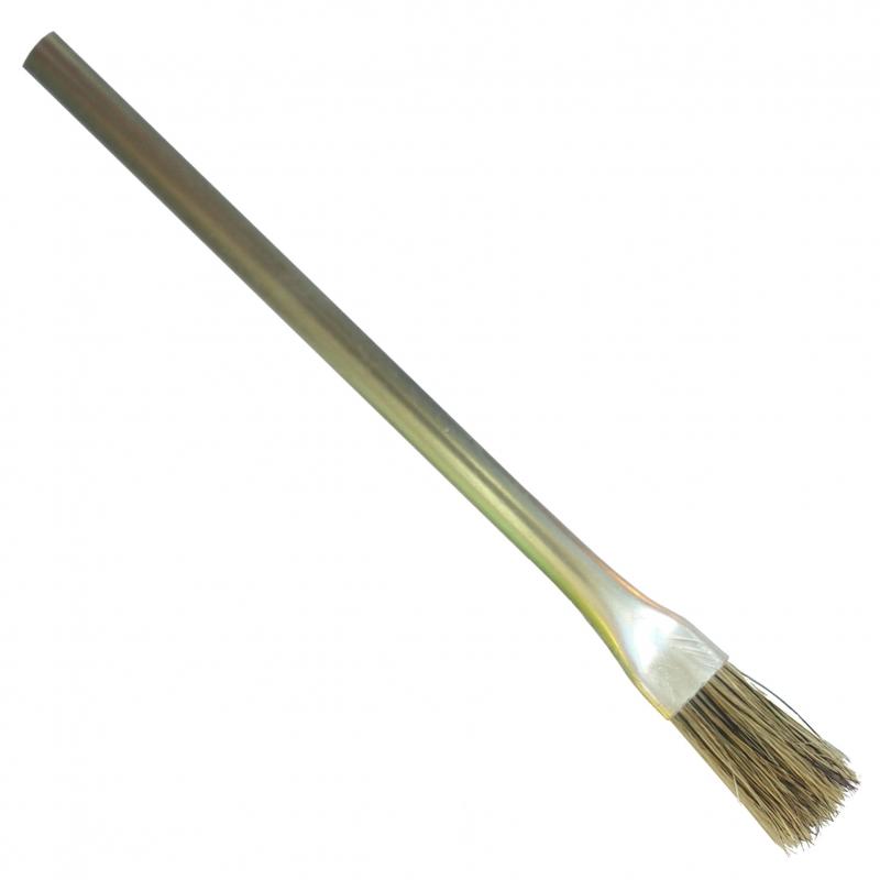 Pinsel mit Metallschaft