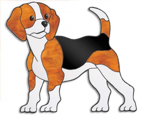 Beagle Schnittmuster   Tiffanyshop Glasladen