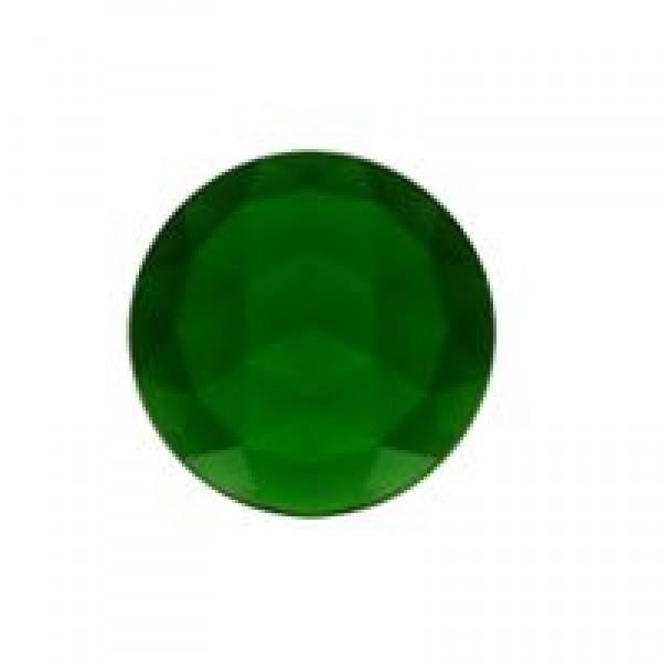Rautenkreis 15mm smaragdgrün