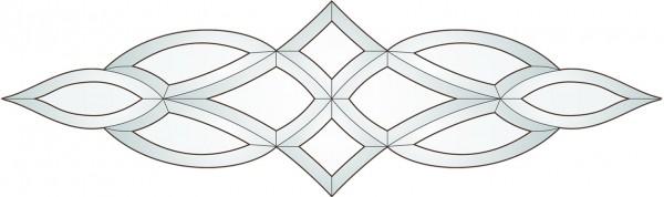 Bevel Bausatz f�r die Tiffany Glaskunstund Bleiverglasung