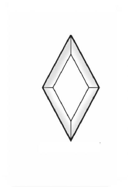 Bevel Rhombus 3