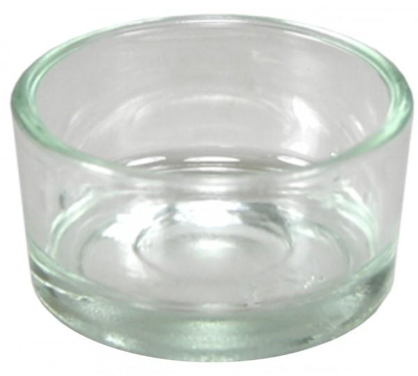 Glastiegel für Teelicht