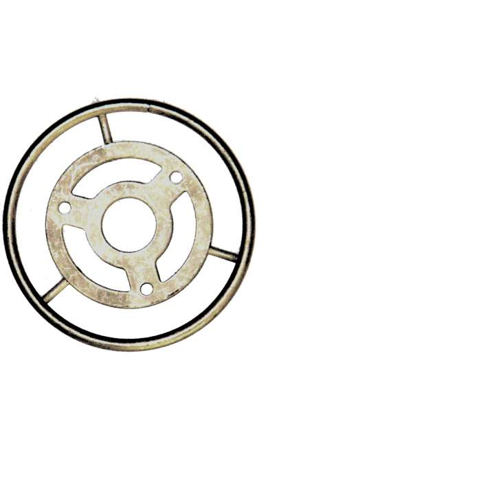 Lampenring verzinnt , Ø 78 mm