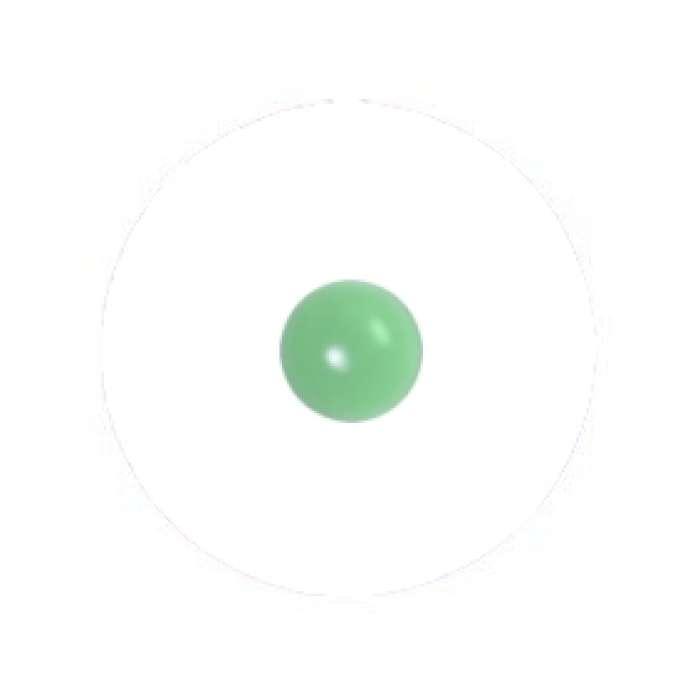 Muggel 10 mm moosgrün