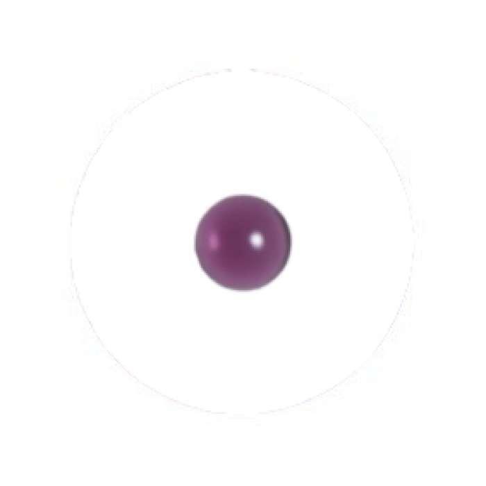 Muggel 10 mm amethyst