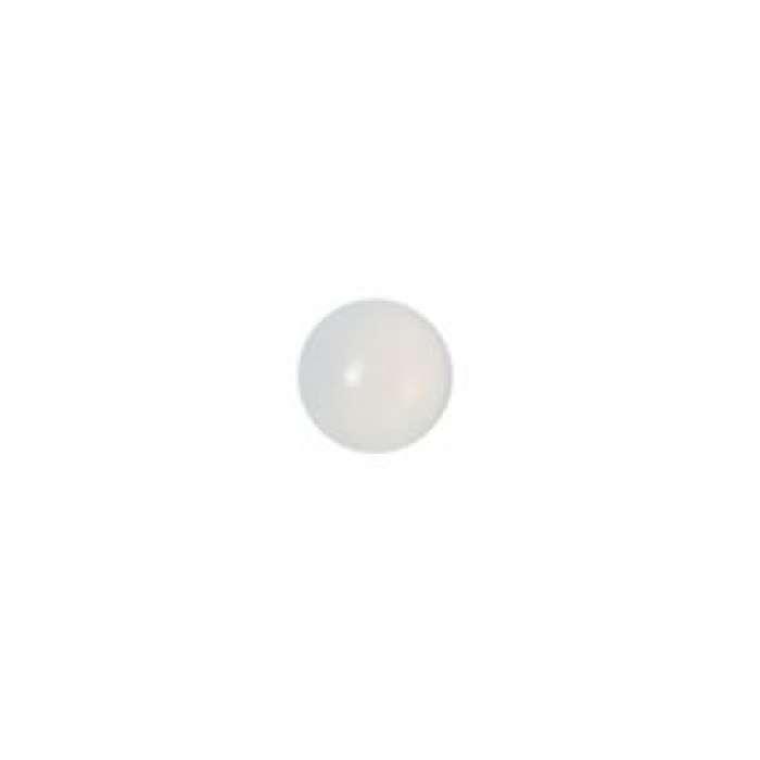 Muggel 10 mm weißopal