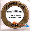 Edco Kupferfolie 11/64 - Black